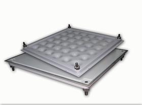 全钢型线槽式低架高网络地板