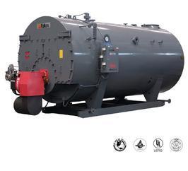 富尔顿FB-S型燃油/燃气/卧式蒸汽锅炉
