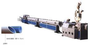 青岛中华宇塑料机械供应纳米抗菌PP-R、PE、PEX冷热给水管生产线