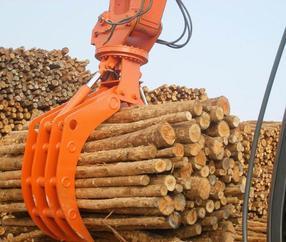 挖掘机抓木器-挖掘机抓爪