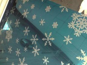 不锈钢卫浴板,宝石蓝雪花飞舞褪镀不锈钢板