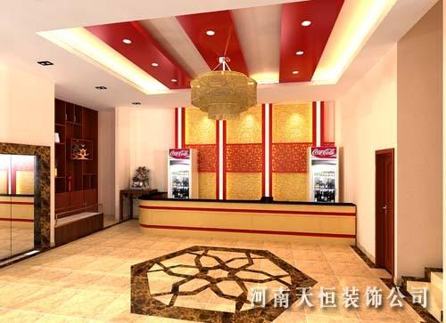 中式饭店装修公司高档餐厅装饰设计餐饮酒店装修设计火锅店装潢效果图