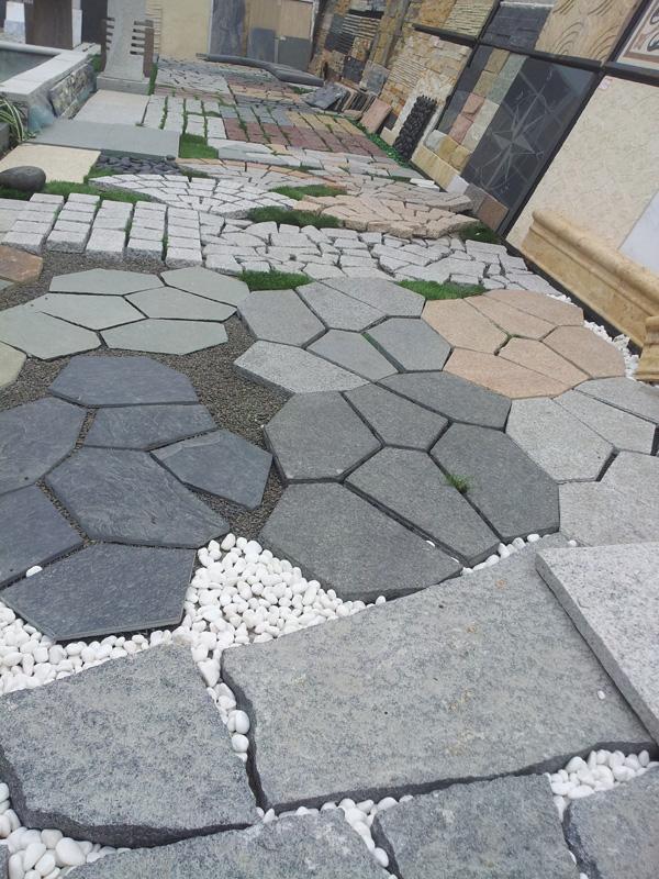 欧式地铺纹理圆形