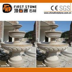 锈色花岗岩喷泉GAF322