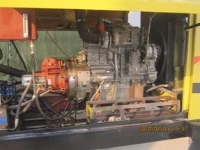 打桩用混凝土泵 桩机配套用混凝土泵