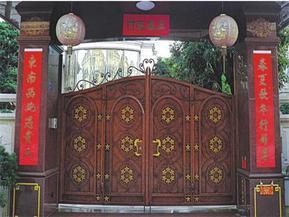 美吉克铁艺大门 ,铜门制造厂家