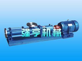江西强亨G型不锈钢螺杆泵经久耐用您的首选产品