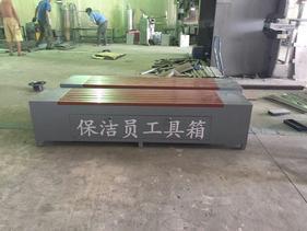 银川保洁员工具箱,西宁座椅式工具箱,兰州环卫工具箱休闲椅厂家