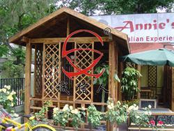 碳化木亭、酒吧门楼、木结构雨棚