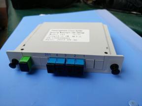 1分4 SC插片式光分配器 SC插卡式光分路器