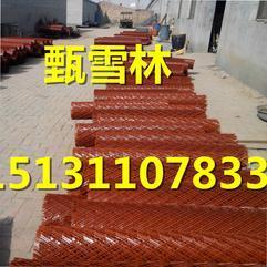丽水1.8米高钢板护栏网桥梁防护——80刀喷漆钢板网尺寸定做