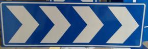 供应导向标,标志牌,三角圆标志牌加工