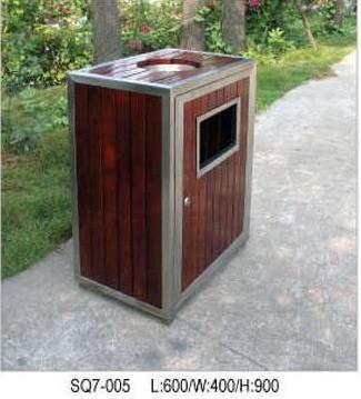 钢木清洁箱|钢木垃圾桶|钢木分类垃圾桶|上海钢木环收藏