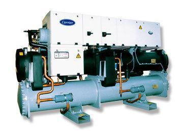采用hfc-134a制冷工质,完全无氯   ■ 新结构的半封闭螺杆压缩机