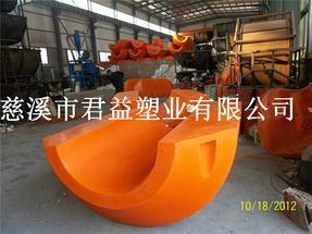 海上大型管道浮体,530管径塑料浮体