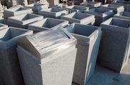 花岗岩垃圾桶雕刻GTB005
