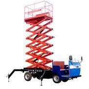供应园林绿化专用车载式载货货梯、电瓶车式升降机。