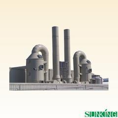 有机废气处理丨VOC废气处理丨逆流洗涤塔