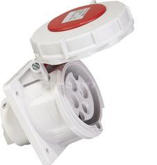 32A冷藏集装箱用工业防水连接器插头插座防腐3h 440V IP67 3P+地