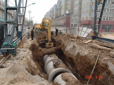 市政道路污水管