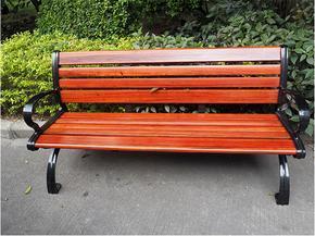 广州易居厂家推荐碳纤维铸铁排椅 户外园林座椅 休闲座椅