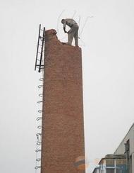 上饶烟囱拆除-高空拆除烟囱水塔