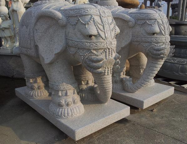 泰式大象石雕gab568