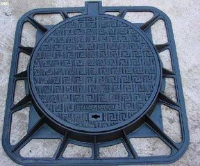 青岛铸铁井盖