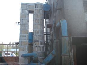 20吨脱硫麻石除尘器