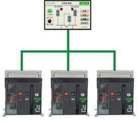 BQ6A北京触摸屏母联控制器 框架式双电源控制器