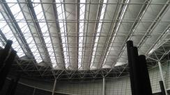 大型中庭玻璃顶,玻璃采光天幕设计、安装