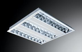 富邦照明T5吸顶式格栅灯盘