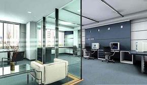 石家庄会议室装修设计办公室隔断制作装修