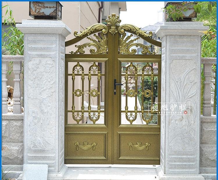欧式别墅庭院门高档古典电动门定做花园门
