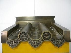 铜瓦厂家直销定做铜装饰材料铜艺厂家