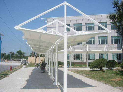 停车棚;膜结构停车棚;遮阳棚(蓬)遮雨棚彩钢停车棚