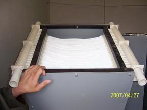 200吨/天一体化生活污水处理和回用设备--日本三菱膜生物反应器(MBR)