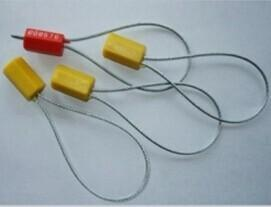 一次性抽紧式六棱施封锁 小摇把可调锁 塑料封条免费打字