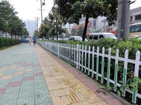 pvc草坪护栏,pvc绿化护栏,pvc园林护栏