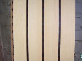 木质吸音板 15MM槽木吸音板