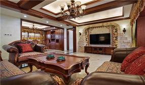 长沙现代中式实木衣柜、酒柜家具定制厂家