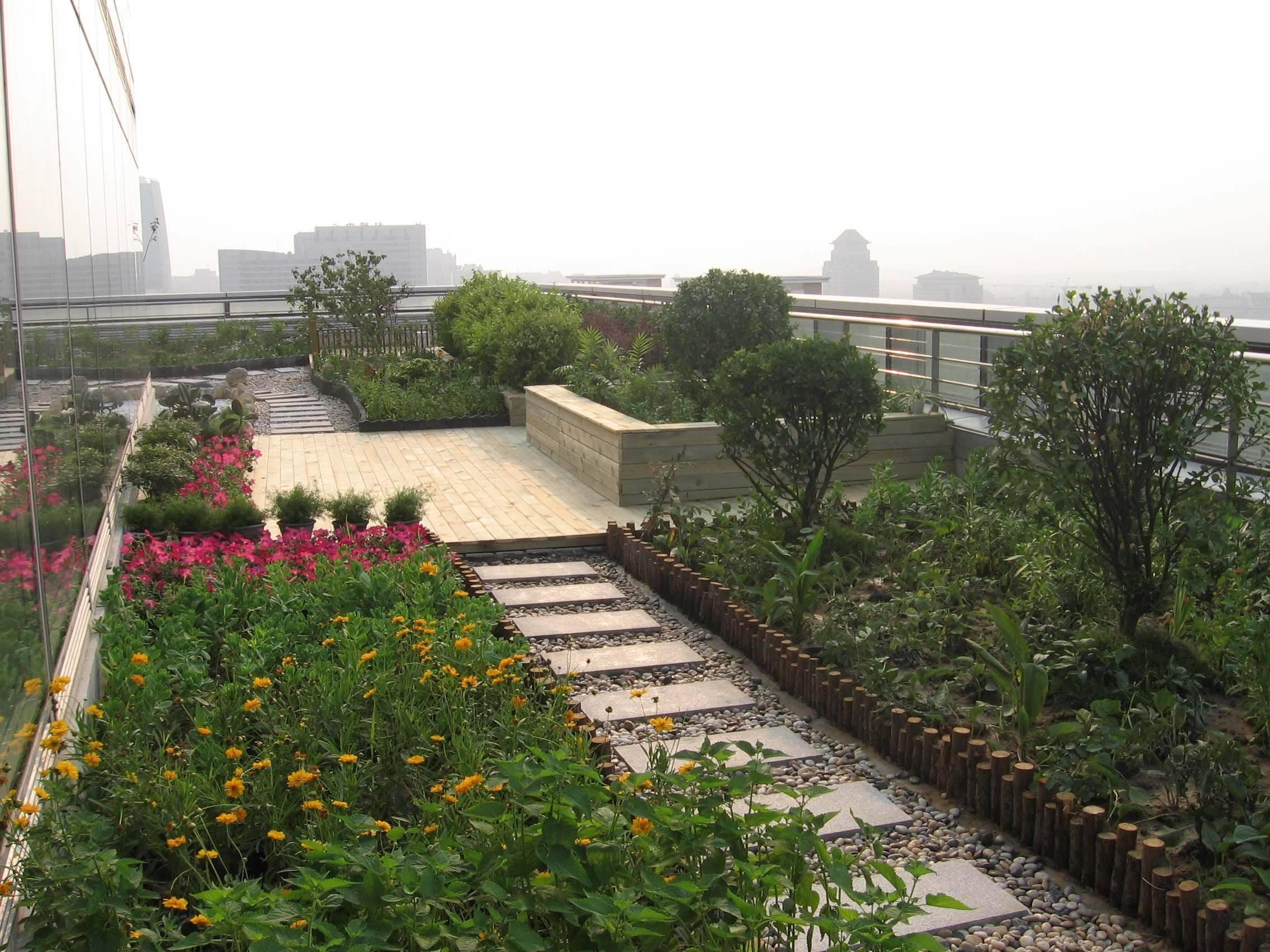 屋顶花园设计,庭院水景设计,别墅庭院绿化,室内水景设计,玻璃水幕墙