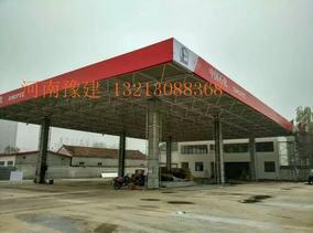 豫建加油站檐口专业人员设计安装,欢迎来电