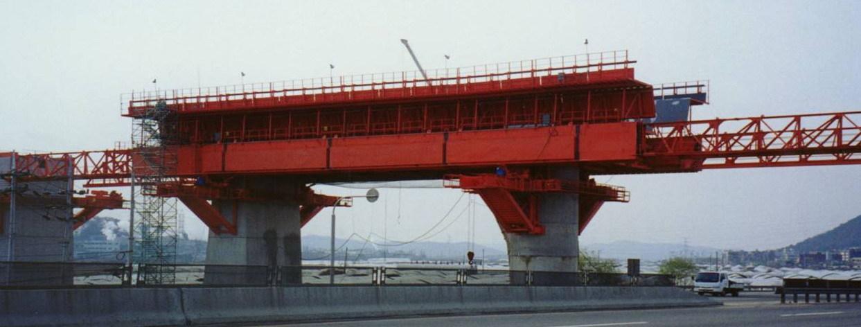 移动模架造桥机图片