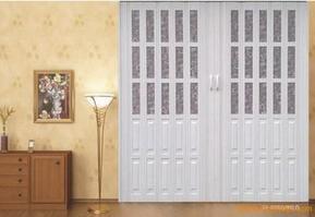 苏州厨房用折叠门,pvc豪华折叠门