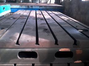 【北重定做】T型槽铸铁平台,河北供应厂家