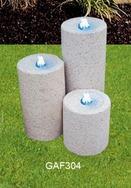 圆柱形流水石GAF304