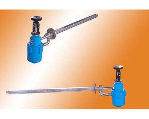 使用调节方便,重量轻,体积小,耐腐蚀,安全可靠等优点,喷出的蒸汽为不