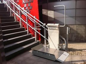 残疾人轮椅式升降机/垂直升降机设备