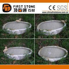 GGV323园林自然石水钵,花钵